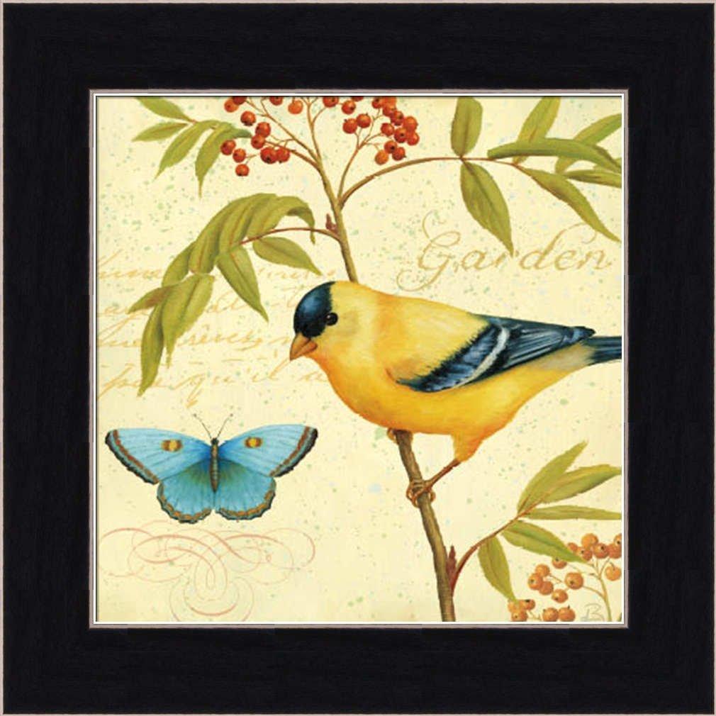 Amazon.com: Garden Passion II by Daphne Brissonnet Bird Butterfly ...