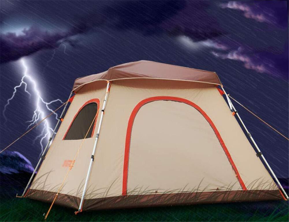 Zelt, Automatic 3-4 Personen Camping Zelte Fully Automatic Zelt, Quick Opening Aluminum Rod Regenschutz Beach Zelt 72e62c