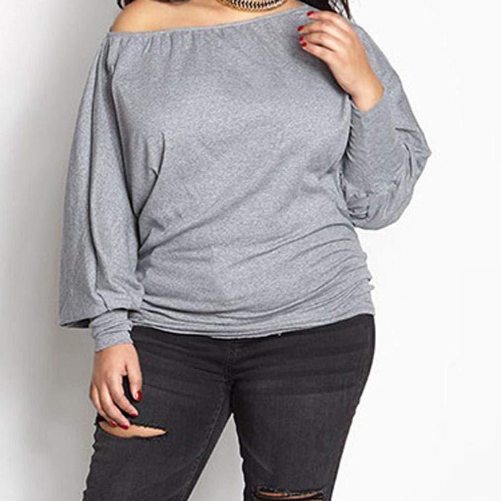 Owill - Blusa de manga larga para mujer, talla grande, sexy: Amazon.es: Juguetes y juegos