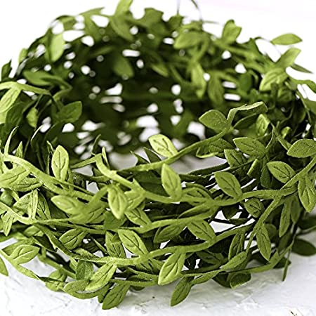 CosyFamily Guirnalda de hojas artificiales de vino, diseño ...