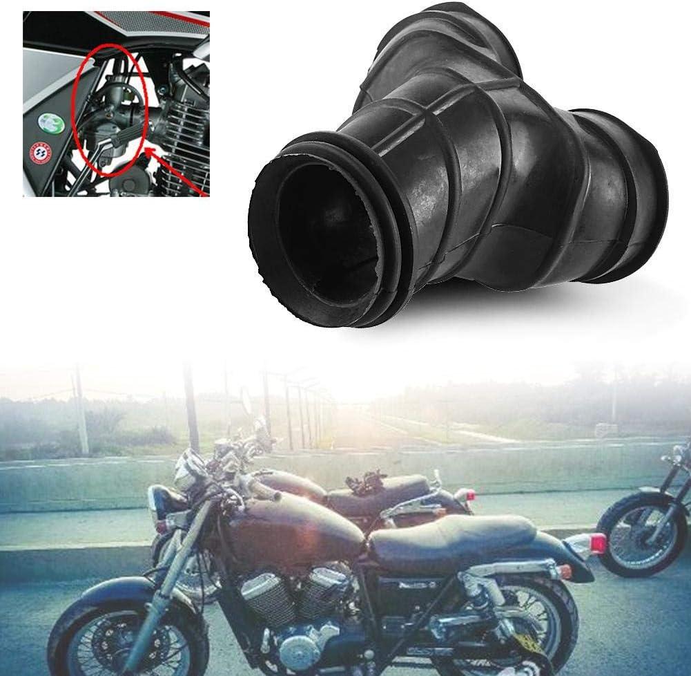 Qiilu Carb Intake Carburetor Interface Adapters for Honda Rebel CMX250//CA250 96-11 CMX250C 03-11 1Pc