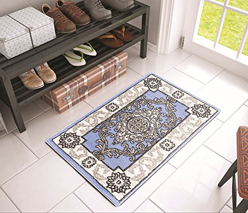 chateau-medallion-blue-french-aubusson-modern-2-x-3-20-x-31-mat-area-rug-easy-clean-stain-fade-resis