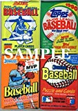 100 Vintage Baseball Cards in Old Sealed Wax