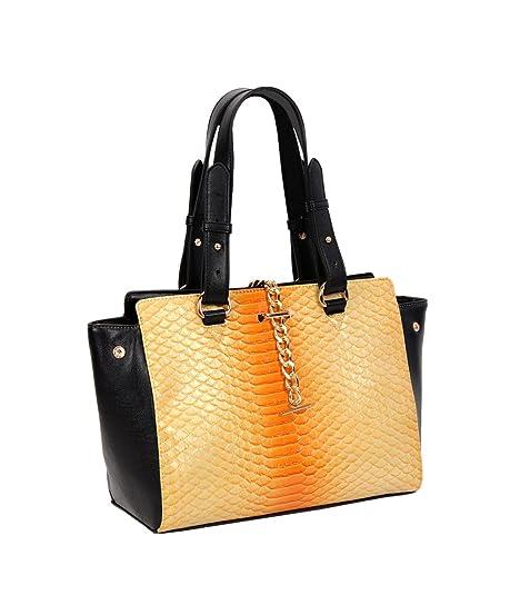 94f564dbb6 Leather Carry Classy Handbag Del All Tote Fash Coccodrillo Faux iPuTZkXO