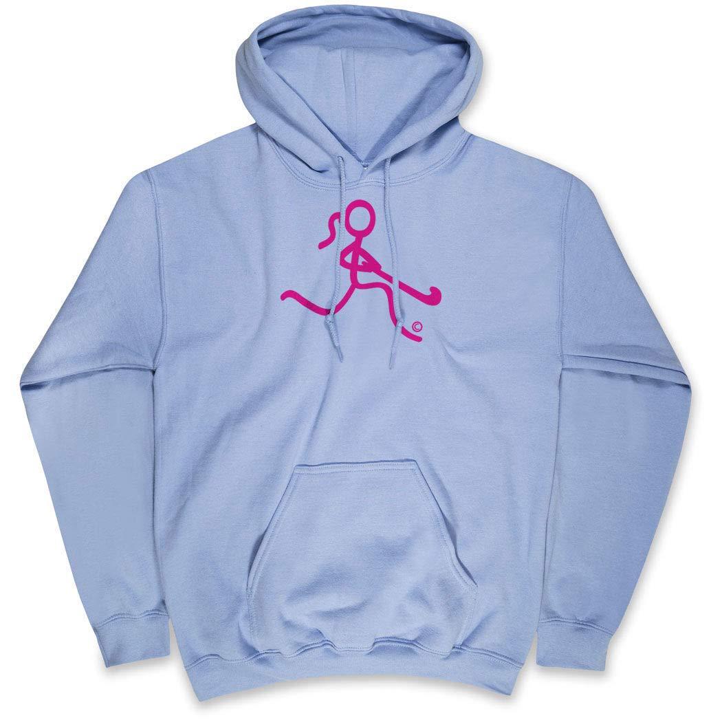 ChalkTalkSPORTS Field Hockey Standard Sweatshirt   Neon Field Hockey Girl