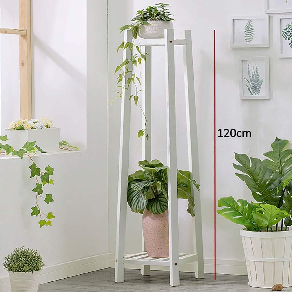 Puesto de plantas Soporte de exhibición de bonsái con balcón ...