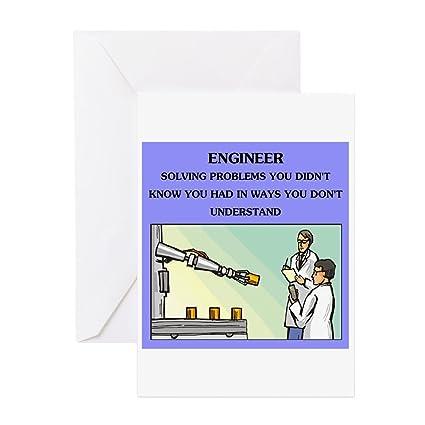 Amazon Cafepress Engineer Engineering Joke Card Greeting
