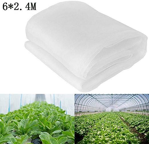 Red de protección contra insectos Zyurong, malla fina para plantas ...