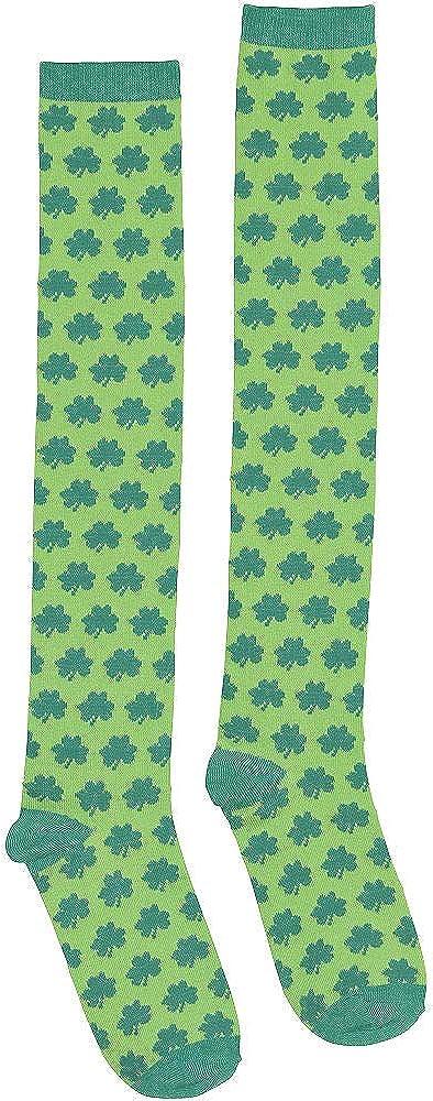 Shamrocks Knee-High Adult Socks