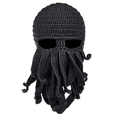 Handgemachte Lustige Tentakel Octopus Hut Häkeln Cthulhu Bart Mütze