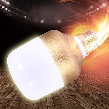 William 337 Bombilla LED, E27 Bombilla Led Luces Proyector Leds Bombillas Luz Lámpara 10W A 40W Lámparas Impermeables (Color : Blanco, Tamaño : 15w): ...