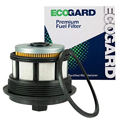 ECOGARD XF59292 Premium Diesel Fuel Filter Fits Ford F-250 Super Duty 7.3L DIESEL 1999-2003, F-350 Super Duty 7.3L DIESEL 1999-2003, Excursion 7.3L DIESEL 2000-2003: Automotive