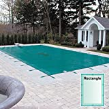 18 x 36 Rectangle Hyper-Light Solid Safety Pool Cover