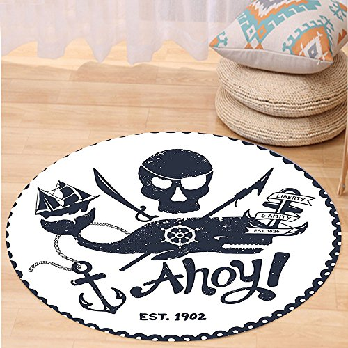 vroselv-custom-carpetanchor-decor-vintage-style-nautical-pirate-skull-and-whale-design-with-ship-anc