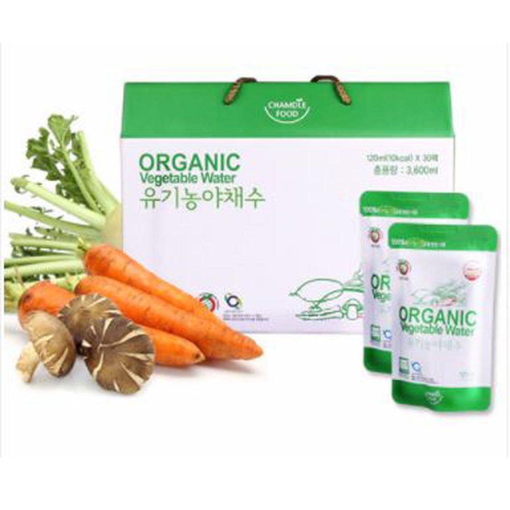 [Charmdle]Organic Vegetables 120ml X 30 Packs /Gift/Health Food/Pack/Bundle/Health Drink/Diet foods/Parents Gift/Vegetable