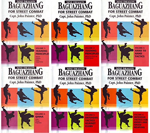 6 DVD SET Nine Dragon Baguazhang Chinese Martial Arts Street Combat Basics - Advanced John Painter by