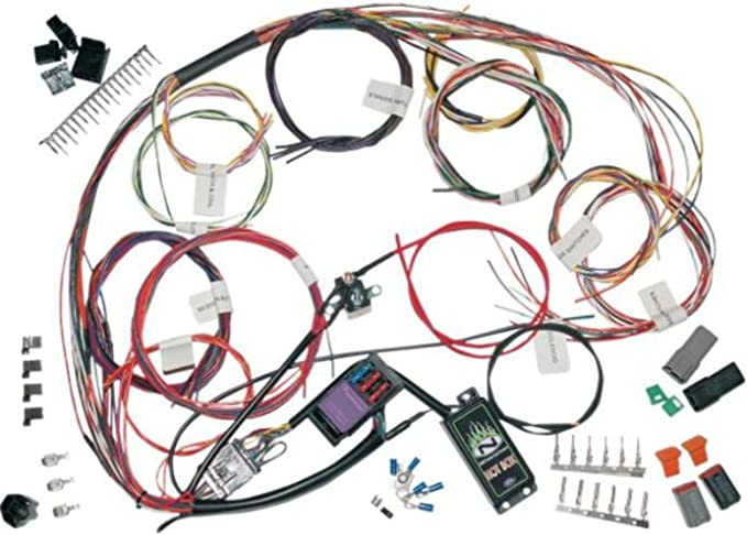 amazon.com: namz custom cycle complete bike wiring harness kit ncbh-01-a:  automotive  amazon.com