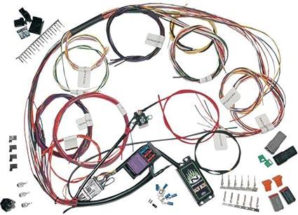amazon com namz custom cycle complete bike wiring harness kit ncbh  custom automotive wiring harness kits #14
