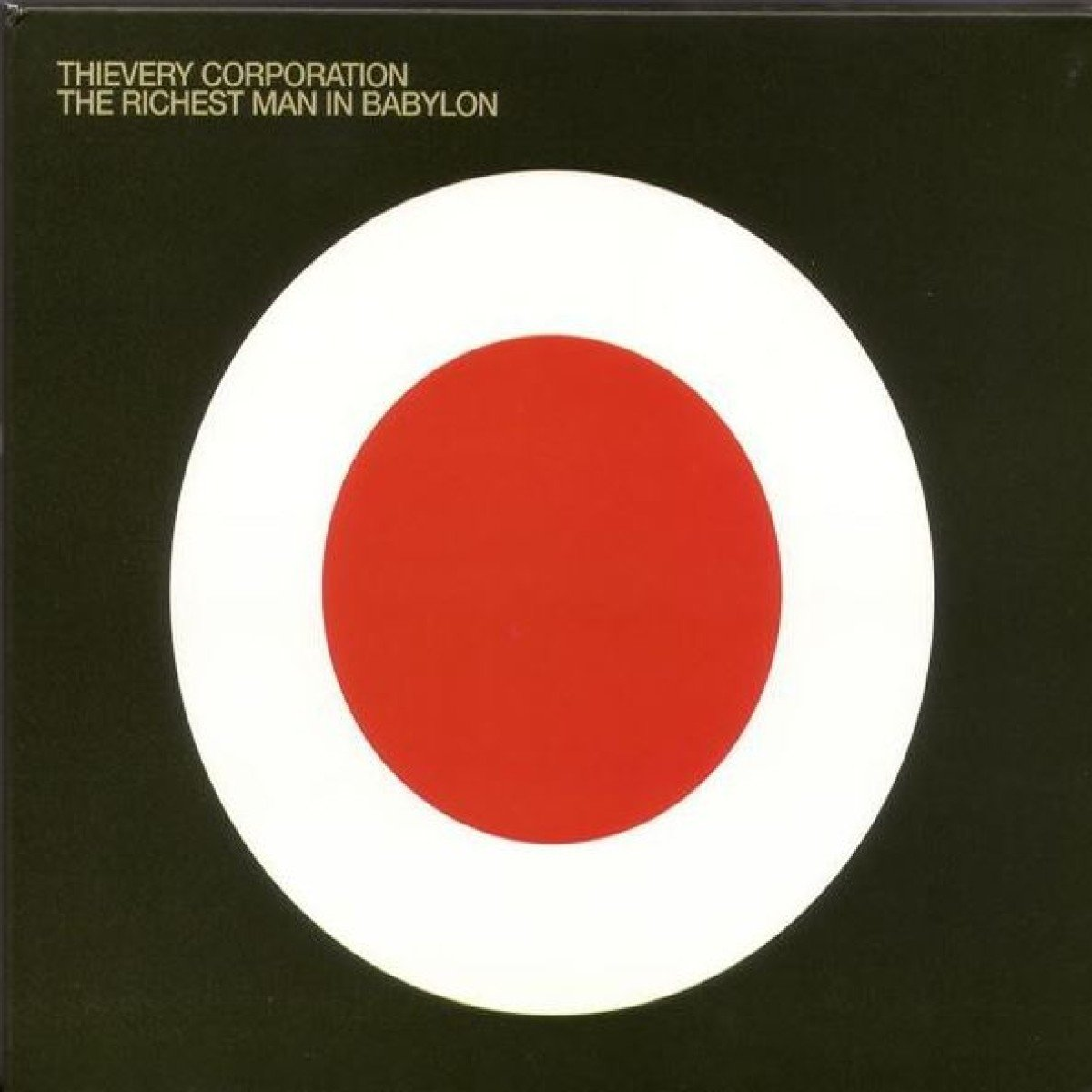 CD : Thievery Corporation - The Richest Man In Babylon (CD)