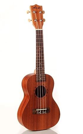 Venta. 23 Ukelele de concierto ukelele Sapele ukelele guitarras pequeñas instrumentos musicales envío gratis + bolsa: Amazon.es: Instrumentos musicales