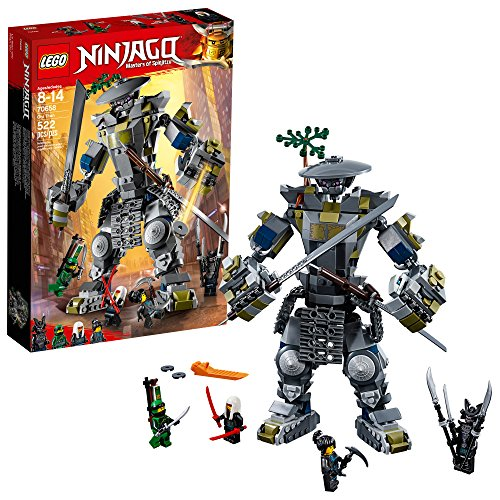 LEGO NINJAGO Masters of Spinjitzu: Oni Titan 70658 Building Kit (522 Piece) -