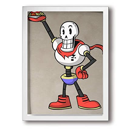 Amazon com: Lisawand Wall Art Undertale Papyrus Stretched Framed
