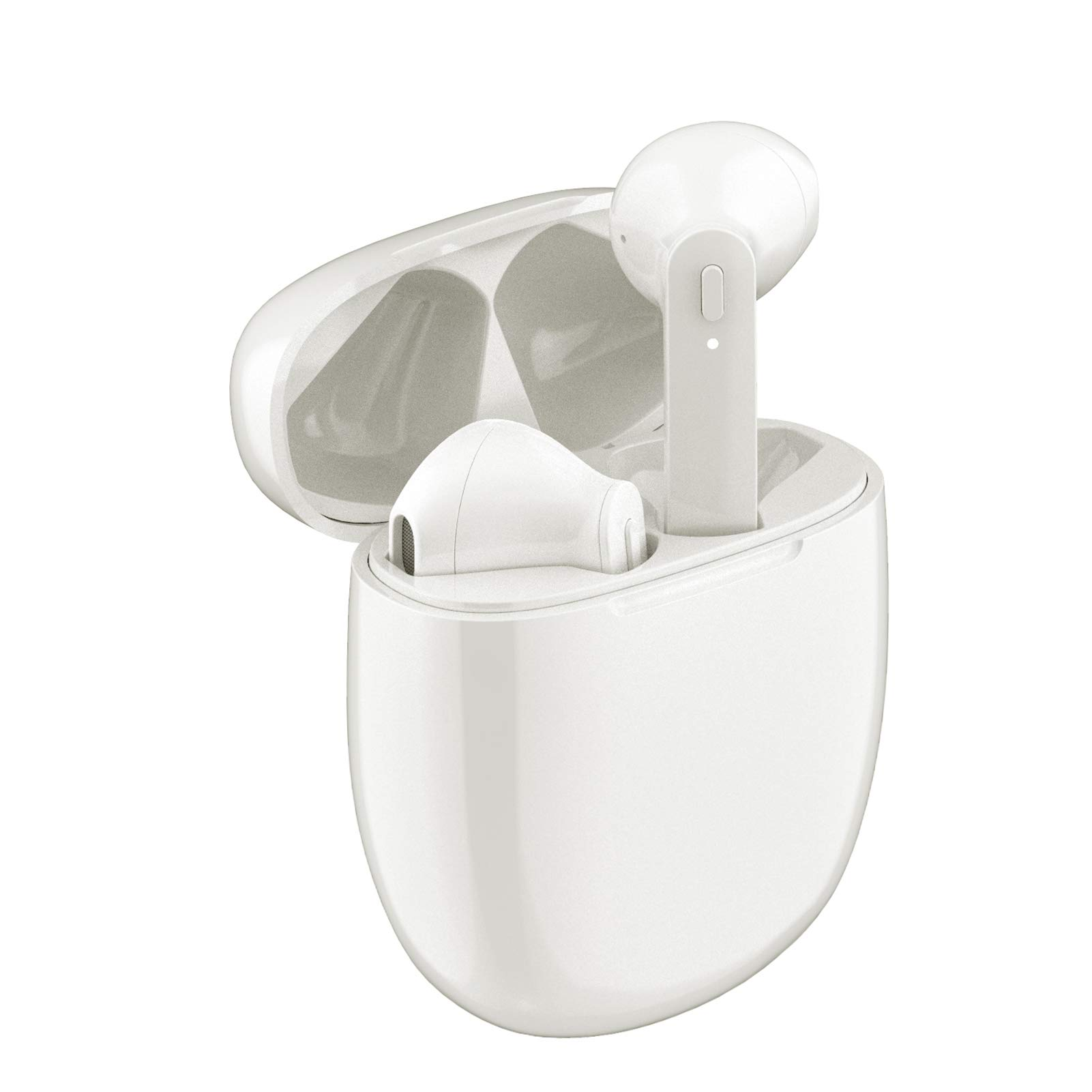 Auriculares Earbuds Inalambricos Rademax White