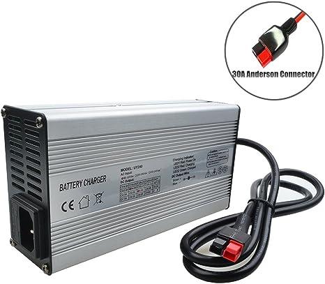 54.6V 4A Lithium Battery Charger for 48V 4A Li-ion Ebike Power Plug