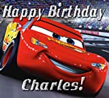 "Cars ""Lightning McQueen"" 1/4 Sheet Edible Photo Birthday Cake Topper. ~ Personalized!"