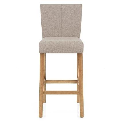 Remarkable Atlantic Shopping Cornell Oak Bar Stool Tweed Fabric Ibusinesslaw Wood Chair Design Ideas Ibusinesslaworg