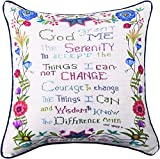 MWW Manual Woodworkers & Weavers Throw Pillow, God Grant Me The Serenity, 18''