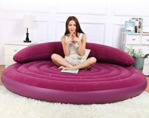 Luxury Ultra Daybed Inflatable Lounge, Machine Washable Big Size Sofa and Giant Lounger Furniture for Kids, Teens and Adults