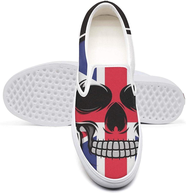 KJGDFS Skull South Africa Flag Biking Shoes Pretty Daily for Mens