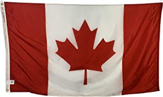 product image for 2x3' Canada Flag - All Weather Nylon & Reinforced Fly End Stitching - Made in USA