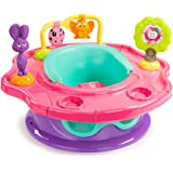 Summer Infant 3-Stage Super Seat Forest Friends - Asiento elevador con actividades, color rosa