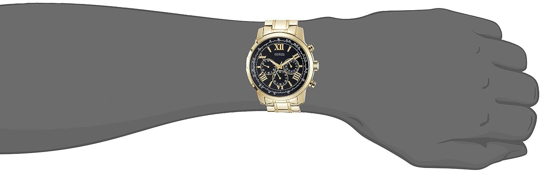 5d904389e Amazon.com: Guess W0379G4 Men's watch Horizon: GUESS: Watches
