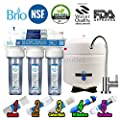 5 Stage Home Drinking Reverse Osmosis System RO Water System NSF Membrane Tank USA