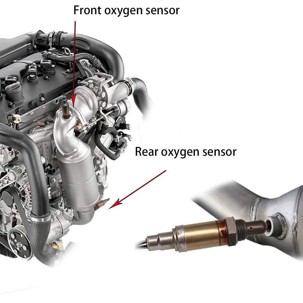 Dodge JSBOYAT 13100 234-4076 O2 Oxygen Sensor for Chrysler Jeep Plymouth