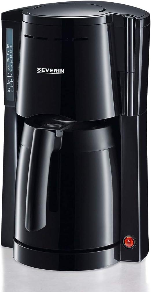 SEVERIN KA 4115 Cafetera para filtros de Café Molido, 8 tazas ...