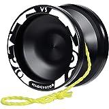 MAGICYOYO Professional Responsive Yoyo V3, Aluminum Yo Yo for Kids Beginner, Replacement Unresponsive Ball Bearing for…