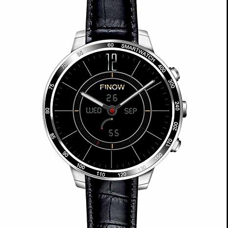 Smart Watch,Inteligentes Reloj Inteligente Bluetooth con Análisis de Sueño,Podómetro,Anti-