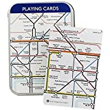London Underground Tube Playing Cards in Travel Tin