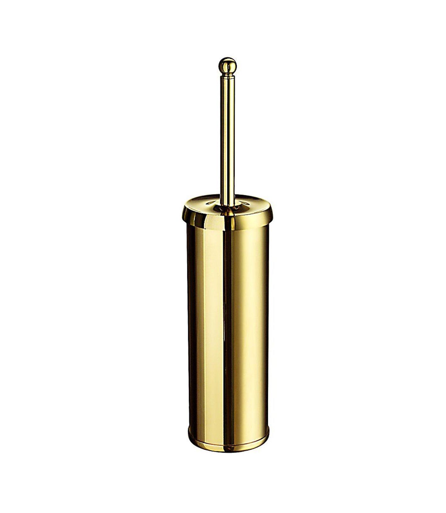 Smedbo SME V233 Toilet Brush Free Standing, Polished Brass, by SMEDBO