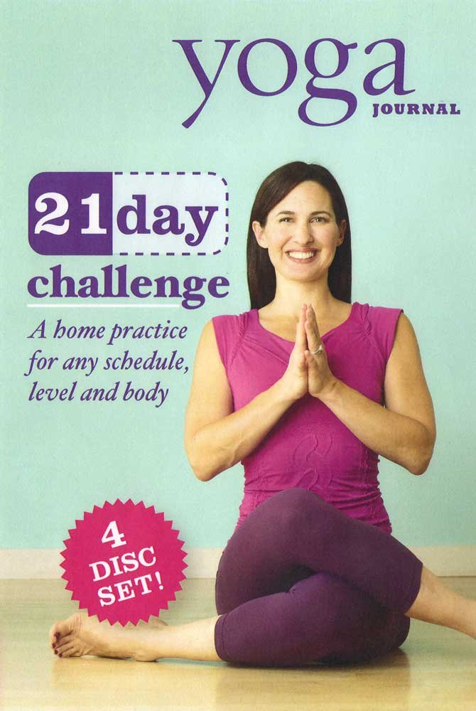 Yoga Journal: 21 Day Challenge Transform Your Body in 3 Weeks (4 Disc Set)