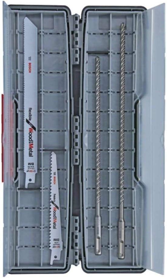 Set de construction de fen/êtres 06159975t1/Scie sabre 12/pi/èces 1/W 1/V Bosch Foret pour marteau perforateur