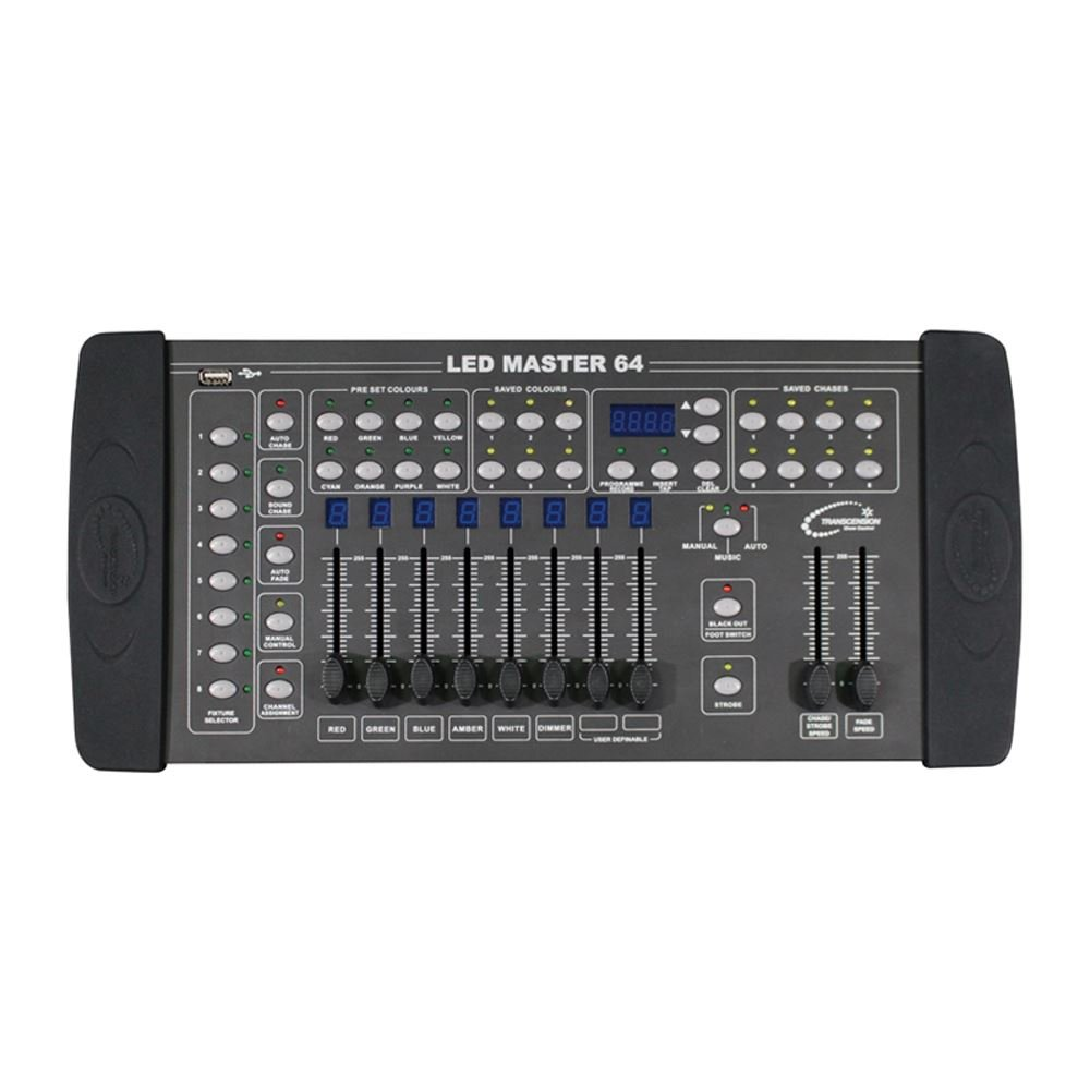 Transcension LED Master 64 Channel DMX Controller - Ideal for LED fixtures Prolight Concepts BOTE04