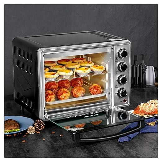 PANGU-ZC Horno: tostadora, Control de Temperatura Ajustable y ...