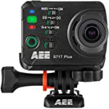 AEE Technology S71T Plus Slow-Motion Action Camera with Waterproof Case and  LCD Touchscreen - Black (1080p, 16 MP, WiFi, 120fps)