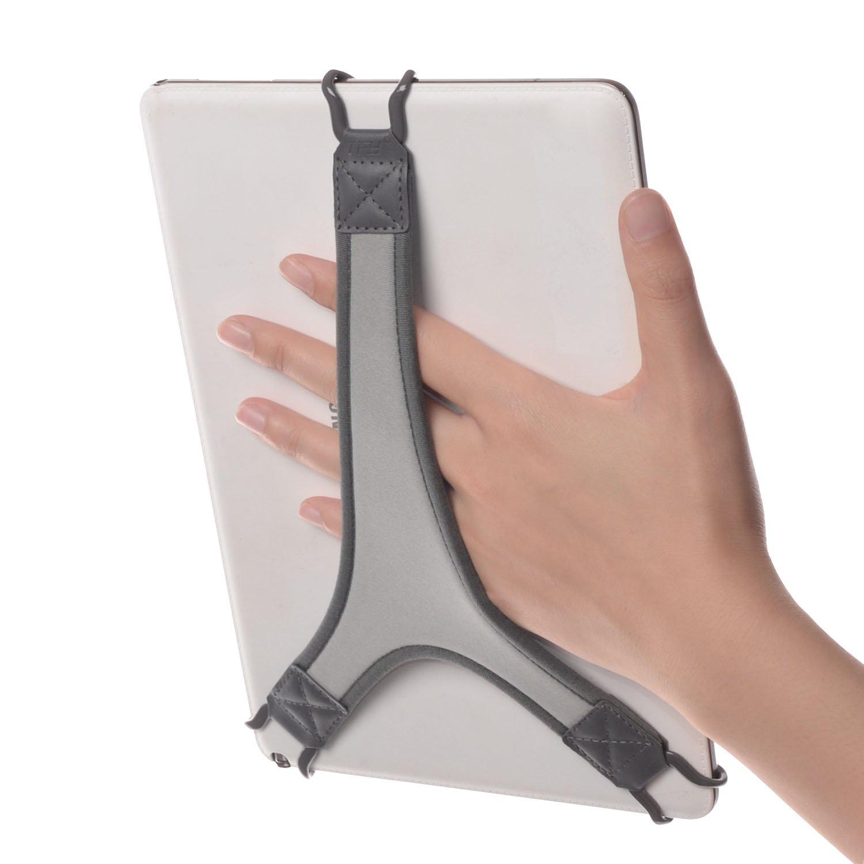 【超特価sale開催!】 TFY B06Y2W2FQ4 4 セキュリティーハンドストラップホルダー/タブレット用フィンガーグリップ iPad TFY Air/iPad Pro 9.7インチ/iPad 9.7インチ/サムスン Galaxy Tab 10.1インチ/Tab 4 10.1インチ/Tab Pro 10.1インチ/Tab S 10.5他 ホワイト 6BELTHOOK10_wht ホワイト B06Y2W2FQ4, THEKAGI堂:300a7a94 --- a0267596.xsph.ru