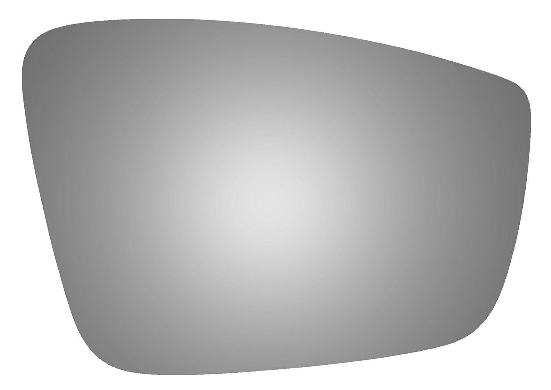 for VOLKSWAGEN BEETLE 2012 2013 2014 2015 2016 2017 2011 2012 2013 2014 2015 VOLKSWAGEN JETTA Burco 5437 Convex Passenger Side Power Replacement Mirror Glass Mount Not Included